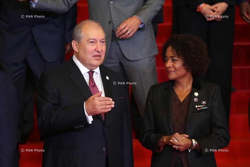 Armen Sargsyan, Michaëlle Jean