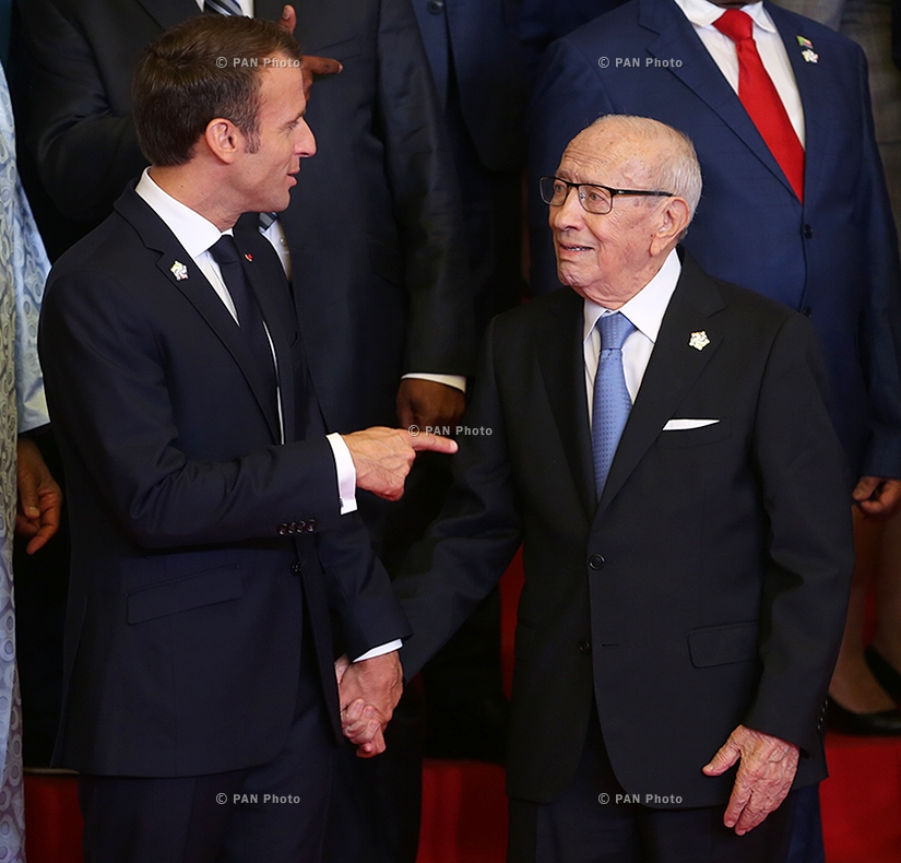 Emmanuel Macron, Beji Caid Essebsi