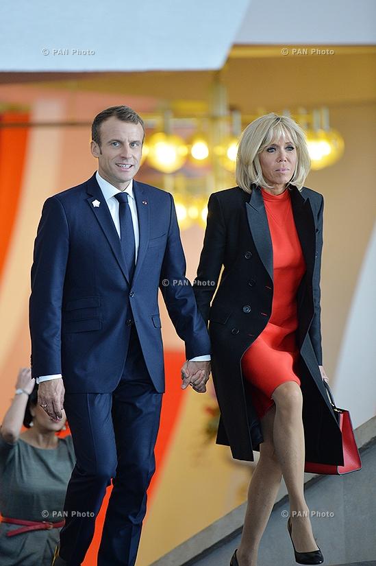 Emmanuel and Brigitte Macron