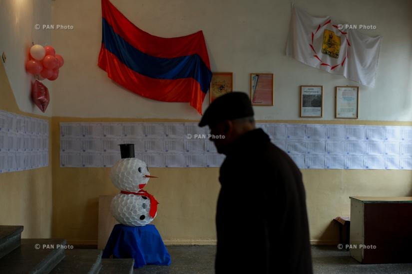 Ազգային ժողովի արտահերթ ընտրությունները՝ Երևանում