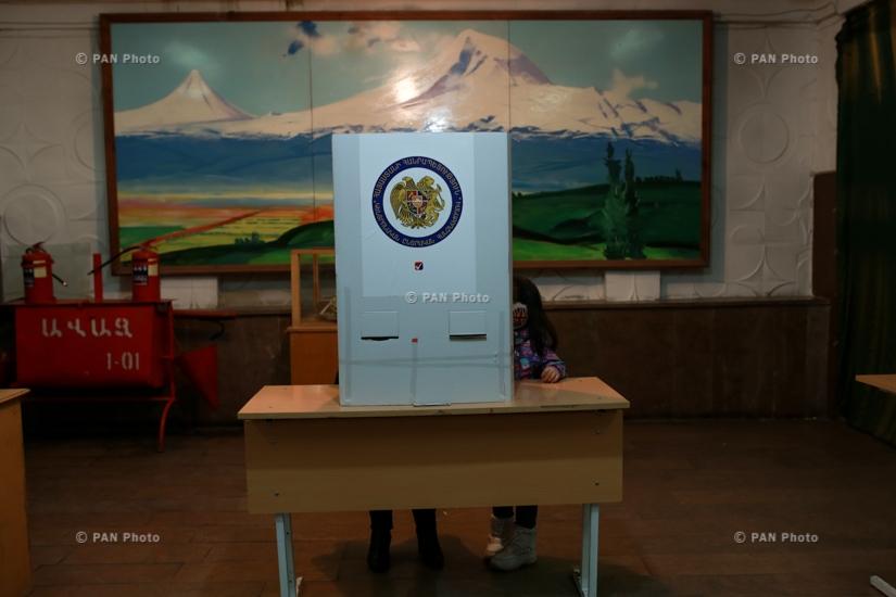 Внеочередные парламентские выборы в Армении