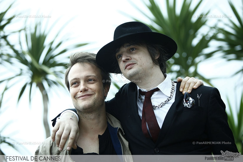 German actor August Dielh and  British actor Pete Doherty