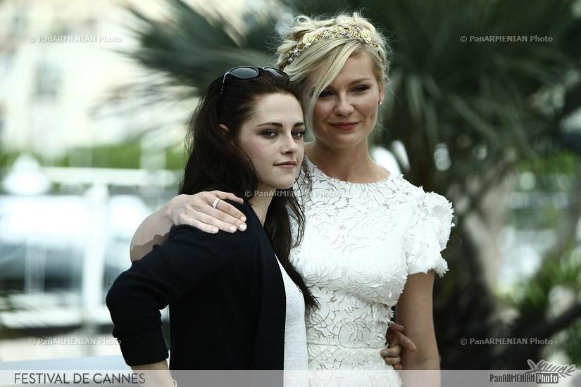 US actress Kristen Stewart and US actress Kirsten Dunst