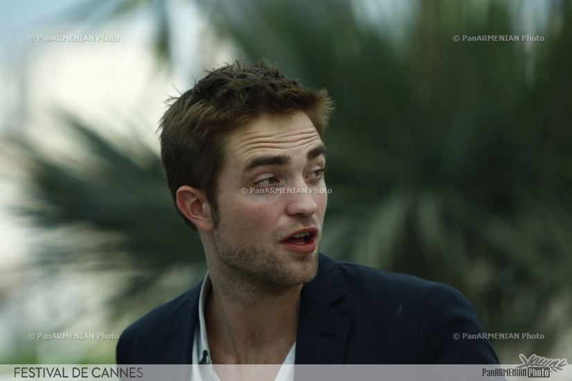 British actor Robert Pattinson