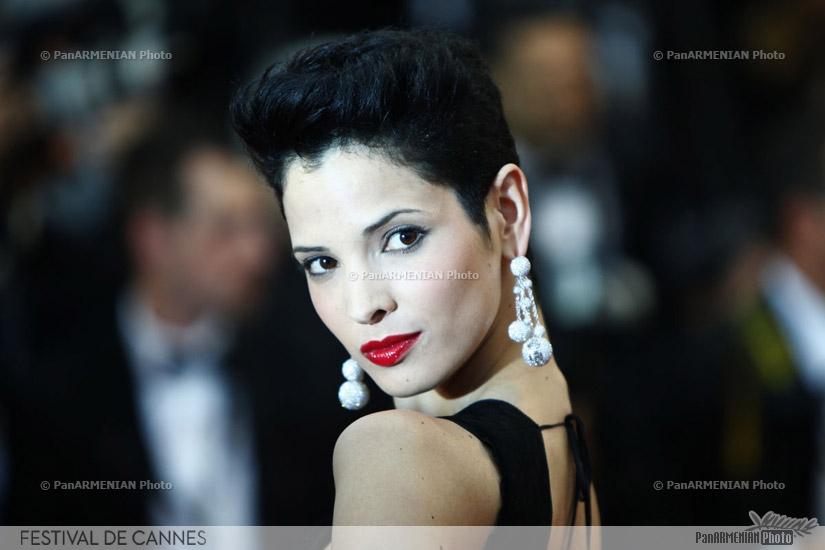 Tunisian model Hanaa Ben Abdesslem