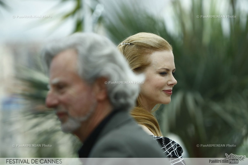 US director Philip Kaufman and Australian actress Nicole Kidman