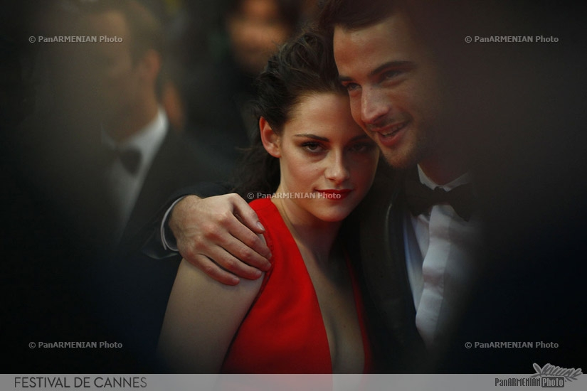 US actress Kristen Stewart and British actor Tom Sturridge