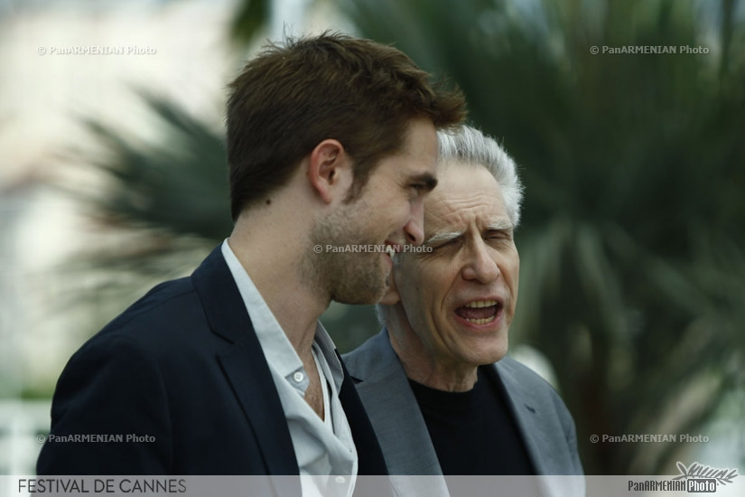 British actor Robert Pattinson and Canadian director David Cronenberg