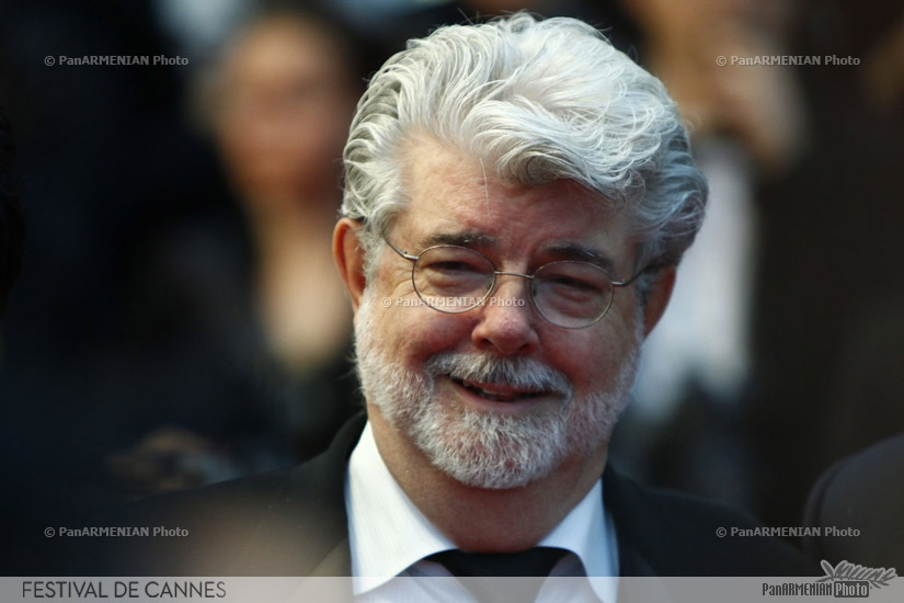 US director George Lucas