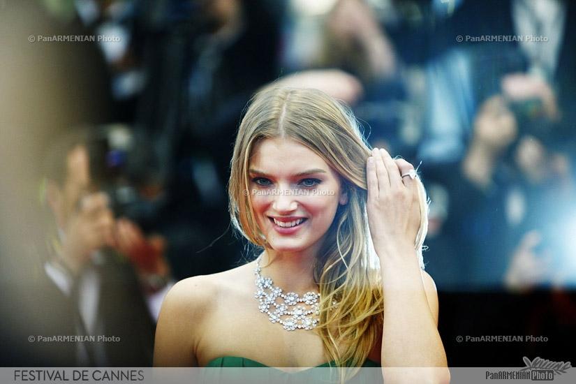 British model Lily Donaldson