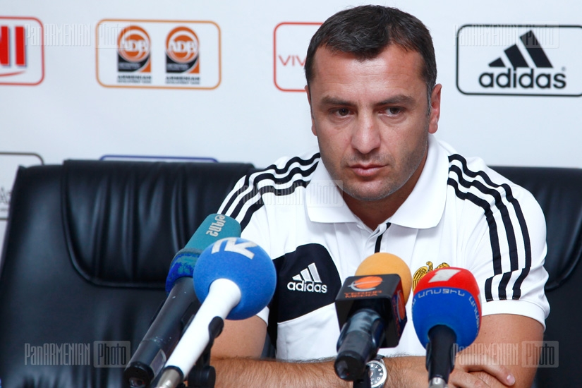 Press conference of Vardan Minasyan