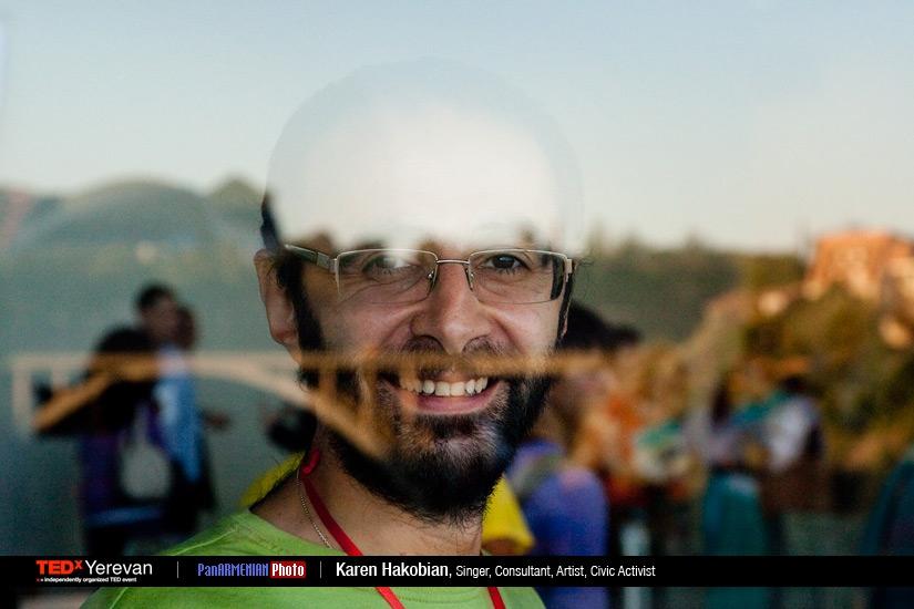 Photoshoot of TEDxYerevan 2012 speakers