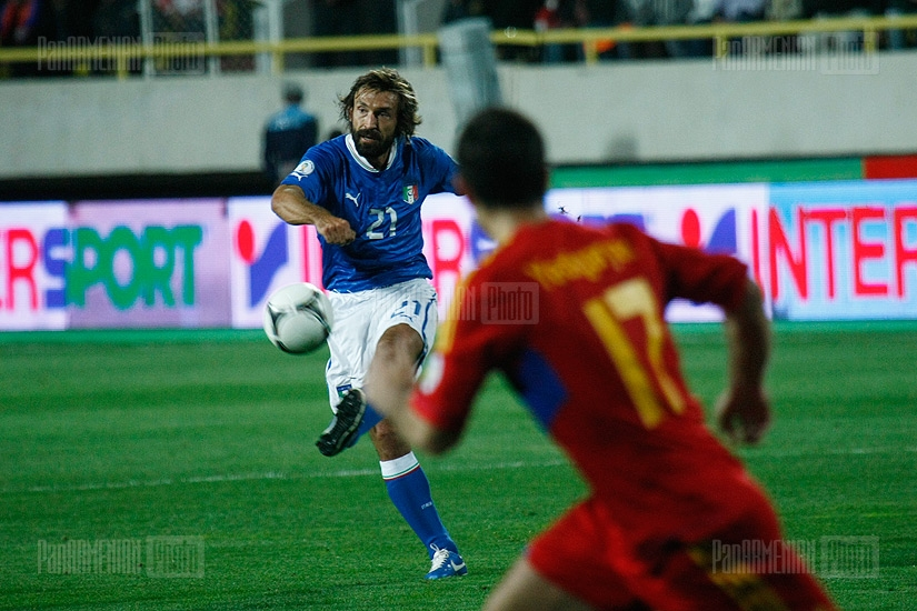 Armenia-Italy football match