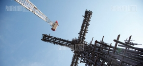 Official opening of 33-meter cross in Aparan