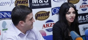 Press conference of Armenian Cooks Association president Armen Mandalyan and chief specialist Vera Hovhannisyan