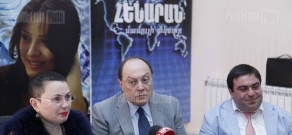 Press conference of representatives of The Sound World foundation