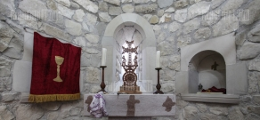 Opening of St. Gevorg church in Horatagh, Martakert region, Artsakh Republic