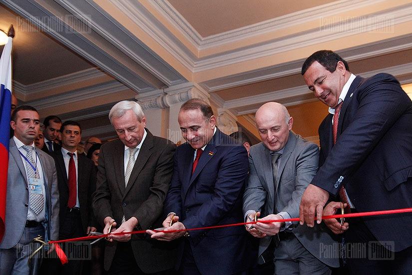 Expo Russia-Armenia 2012 launches in Yerevan