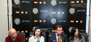News conference on ArmNet Awards 2012 events  series