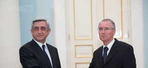 Armenian President meets newly-appointed Greek ambassador