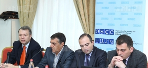 Discussion on problems and peculiarities of probation service establishment in Armenia