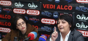 "News conference of ""Yelk"" action group"
