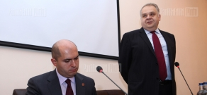 Minister of Education and Science Armen Ashotyan visits  Armenian State Pedagogical University