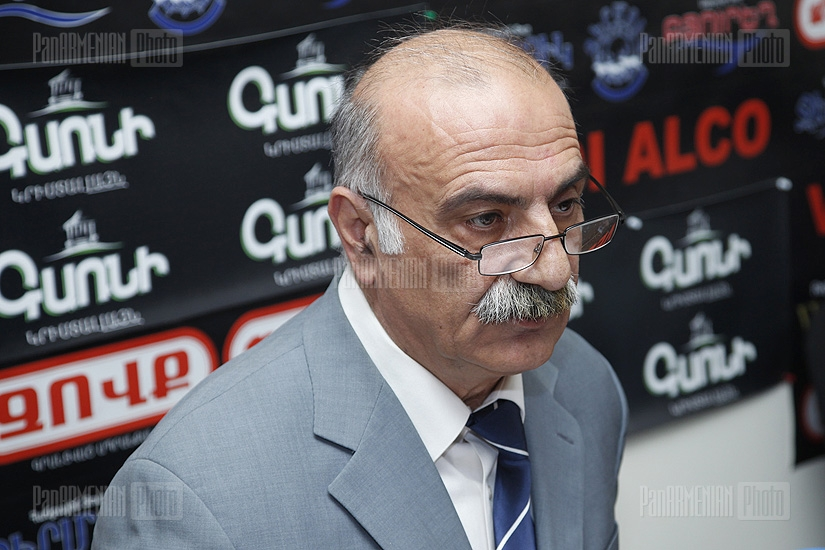 Press conference of Martun Matevosyan