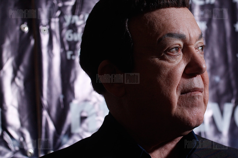 Press conference of  Joseph Kobzon