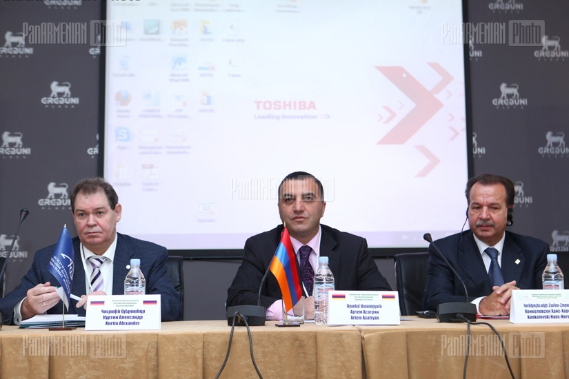 The 2nd international conference on topic of pension reforms organized by the RA Ministry of Labor and Social Affairs and the USAID