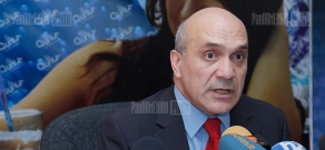 Press conference of committee for protection of freedom of speech Ashot Melikyan