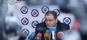 Press conference of head of the center for aid and rehabilitation to the victims of destructive cults Alexander Amaryan