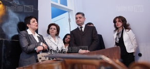 RA PM Tigran Sargsyan attends the opening of Alexander Spendiaryan House-Museum after the reconstruction