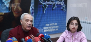 Press conference of Chairman of the Union of Architects of Armenia Mkrtich Minasyan