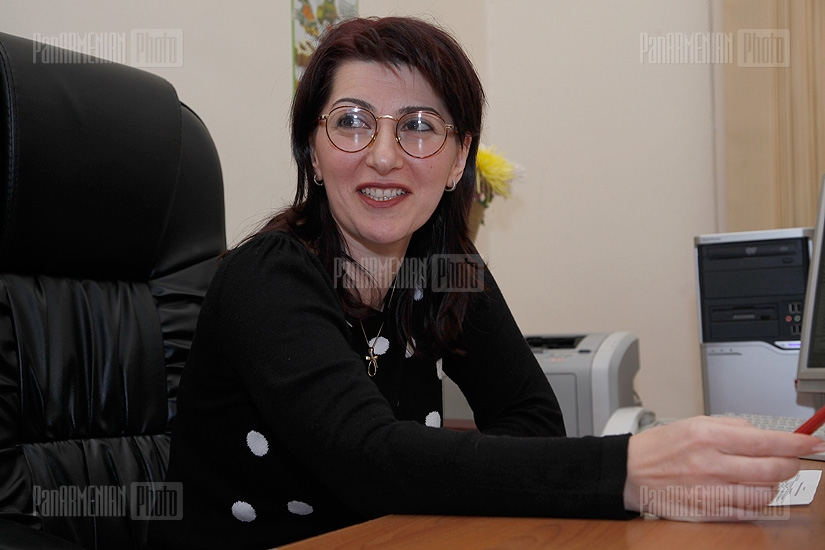 Press conference of Gayane Zargaryan