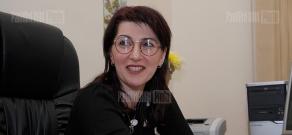 Press conference of Gayane Zargaryan