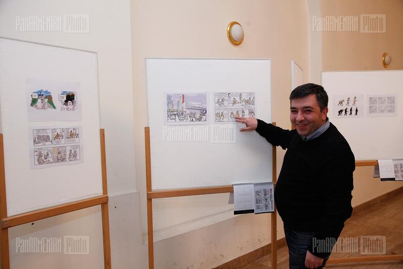 «PanMan.  Խոսող պատկերների ընտրանի» ցուցահանդեսի բացումը