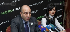 Press conference of Ameriabank