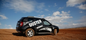 First test drive of Renault Duster in Armenia