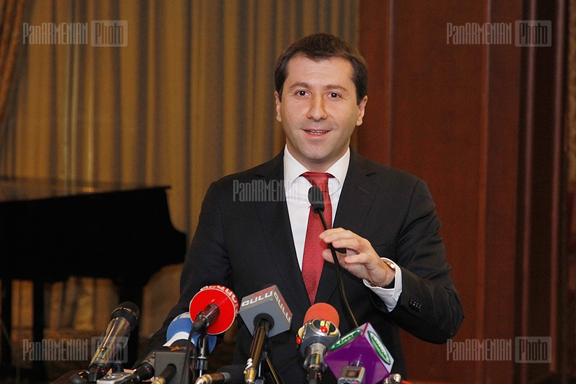 Press conference of RA Ombudsman Karen Andreasyan