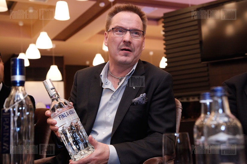 Master class of Master Taster for Finlandia Vodka Worldwide  Markku Raittinen