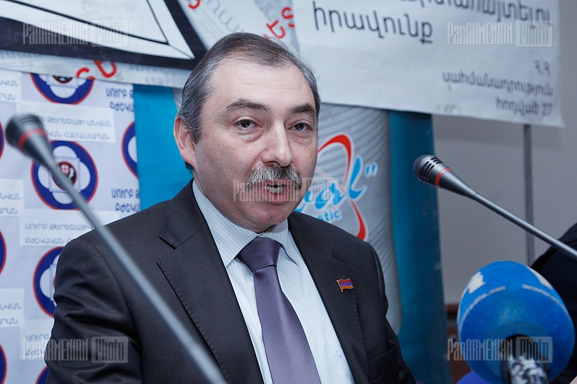 Press conference of Hayk Babukhanyan