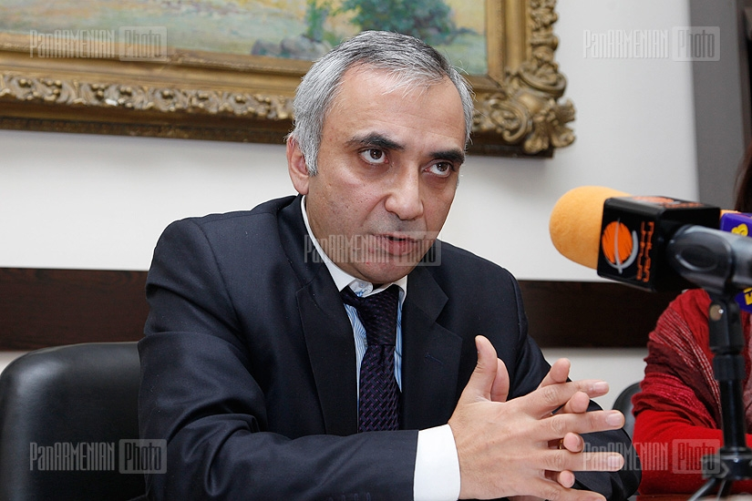 Press conference of RA Deputy Minister of Culture Arthur Phoghosyan
