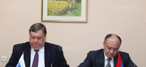 Armenian Defense Ministry, OSCE Office in Yerevan sign 2013 cooperation program