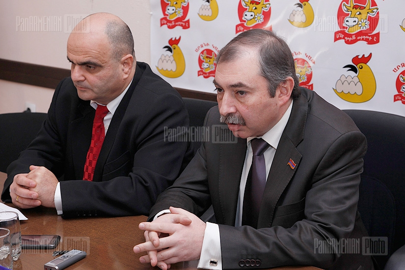 Press conference of Hayk Babukhanyan and Levon Baghdasaryan