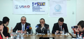 Discussion organized by NDI concerning Presidential Elections