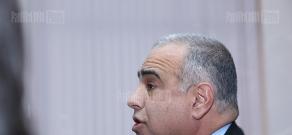 Press conference of Raffi Hovhannisyan