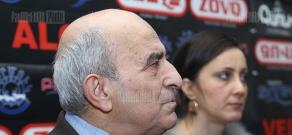 Press conference of Samvel Karapetyan and Alexandr Manasyan