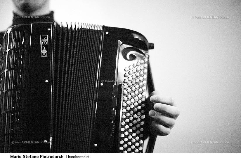 Mario Stefano Pietrodarchi, Italian bandoneonist