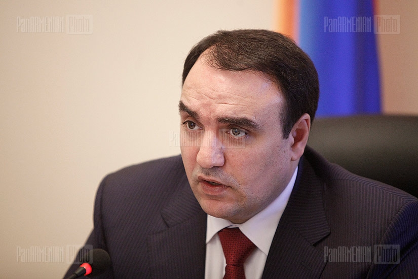 Press conference of Arthur Baghdasaryan
